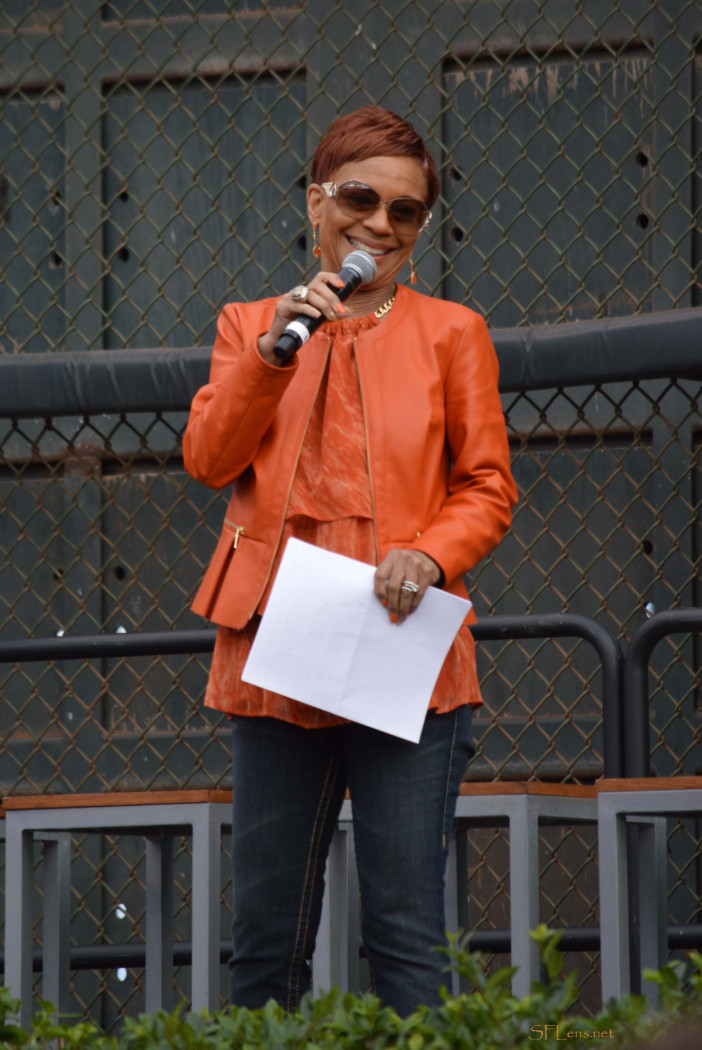 Renel Brooks-Moon at AT&T Park